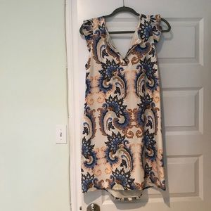 Tibi Silk Dress Sz 10